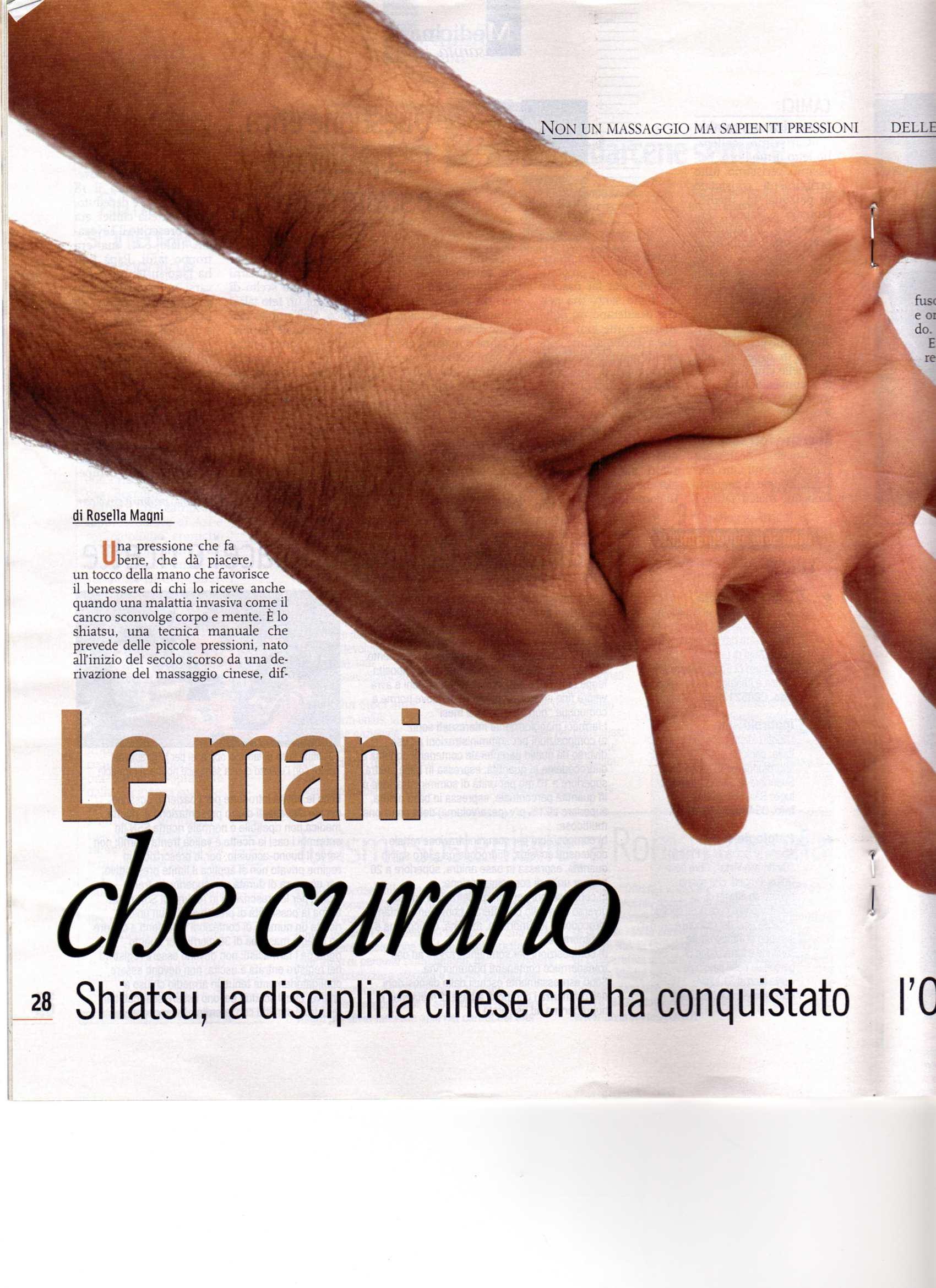 Repubblica Salute Shiatsu Viva Shiatsu Lo Shiatsu A Torino