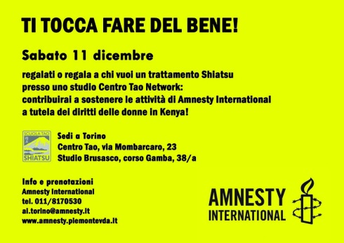 Il Centro Tao per Amnesty International