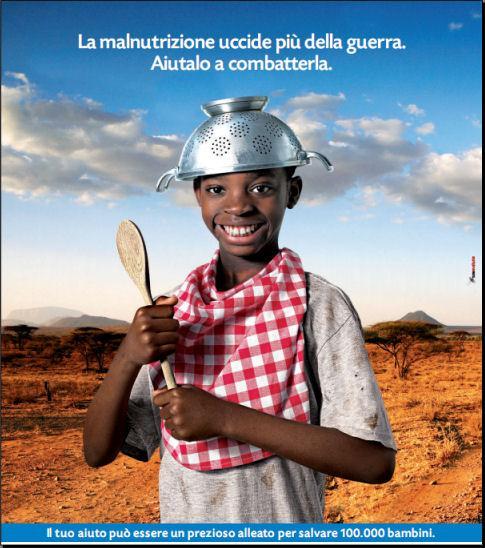 Shiatsu solidale contro la malnutrizione infantile