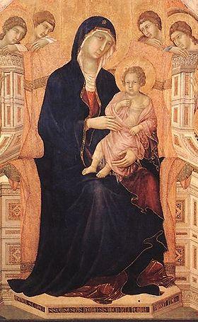 La Maestà di Duccio di Buoninsegna