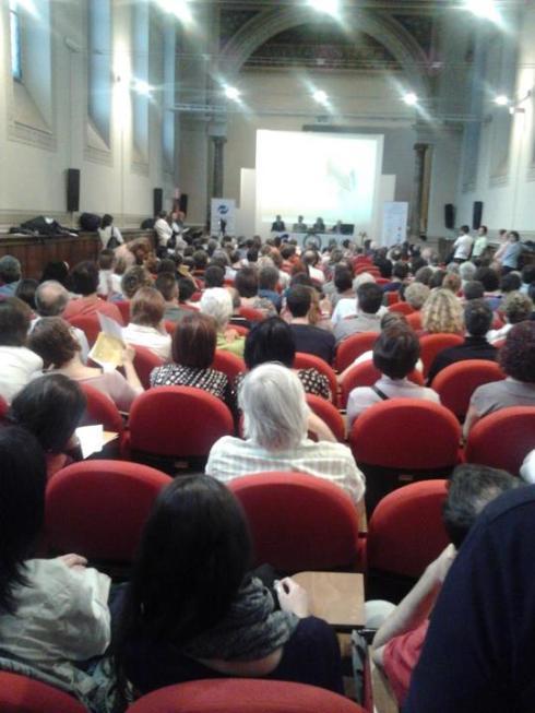 Convegno Shiatsu e DBN Torino 9/5/2012 - panoramica sala