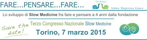 Slow Medicine convegno 7Marzo 2015