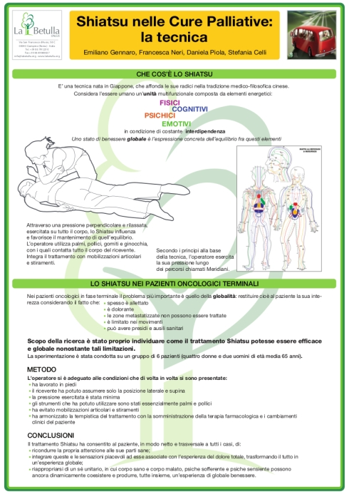 Shiatsu nelle cure palliative - poster_latecnica