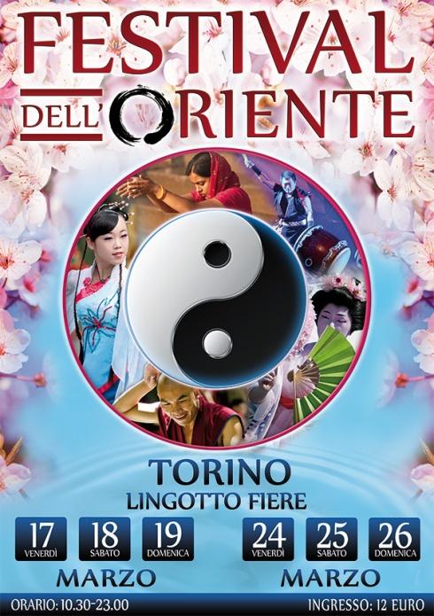 Conferenze al Festival dell'Oriente di Torino: #Shiatsu #IChing #Numerologia