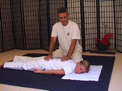 Valter Vico - trattamento Shiatsu della schiena