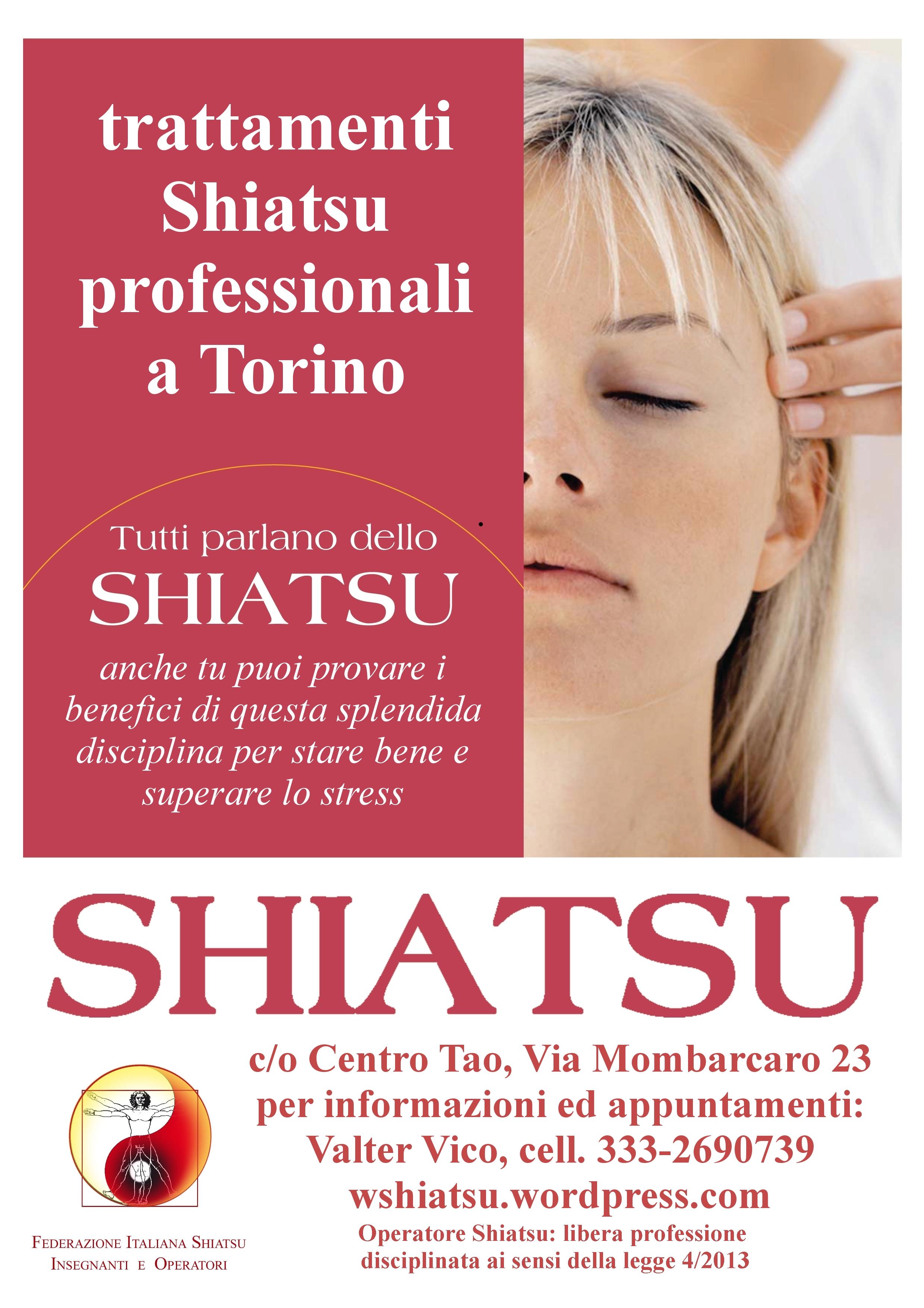 viva shiatsu - cartello trattamenti 2
